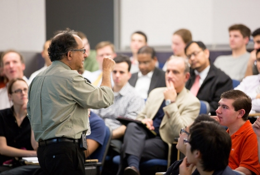 Faculty experts teach practical foreign policy to GW students.