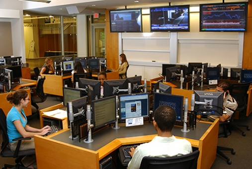 GWSB Wellde Capital Markets Trading Room