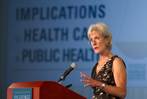 GWSPH hosts public health policy leaders to guide discussions in the field.