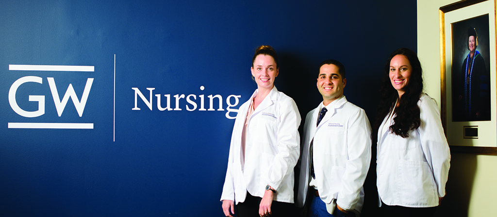 The first recipients of the Johnson-Pawlson Scholarship for Enhanced Quality and Safety at the School of Nursing share their their stories and future plans.