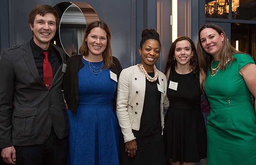 Scholarship students at the Power & Promise Celebration.