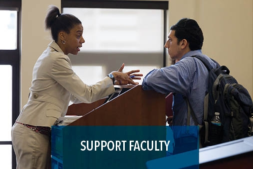 Support LAW faculty