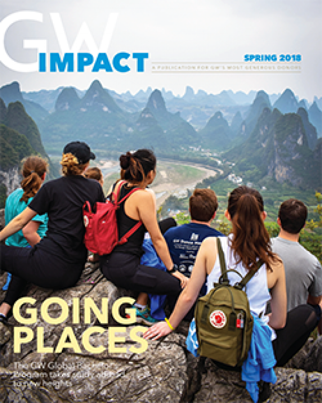 Read the Spring 2018 issue of GW Impact