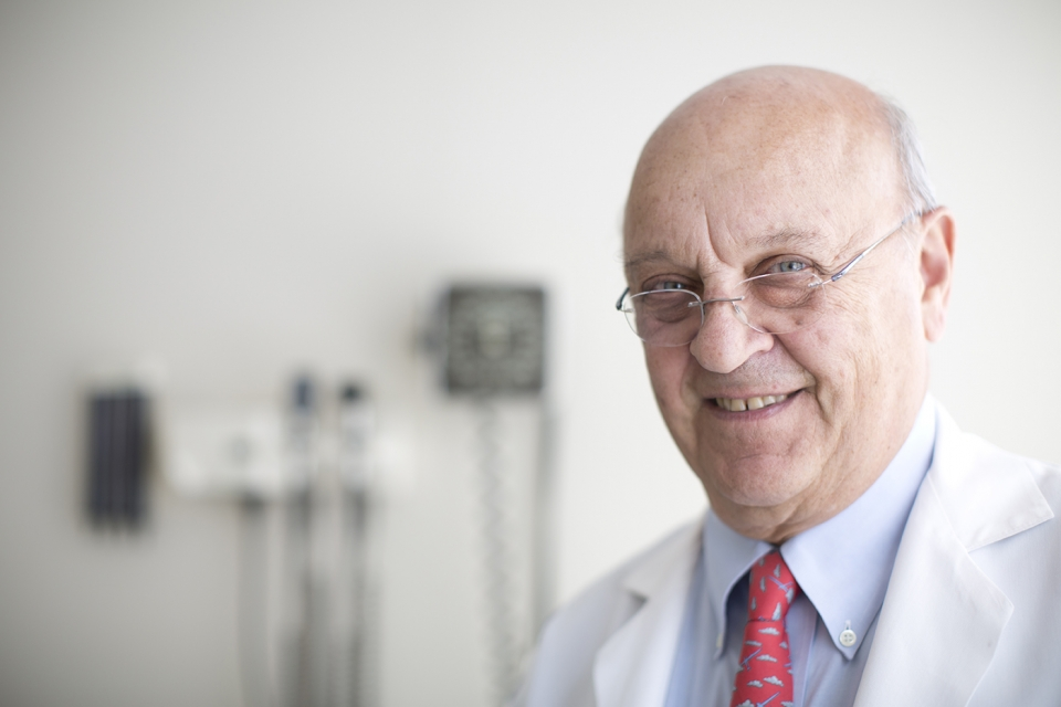 Dr. Daniel Ein, Clinical Professor in the School of Medicine and Health Sciences and Director of GW's Allergy and Sinus Center.