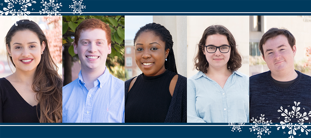 Five GW students who benefit from philanthropy