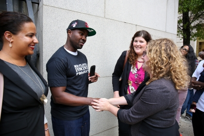 Lamar Johnson was exonerated after 13 years behind bars.